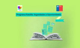Programa de Seguridad y Opotunidades