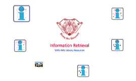 Information Retrieval with Library Resources