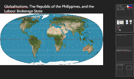 Globalizations, The Republic of the Philippines, and the Lab