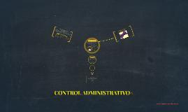 Copy of CONTROL ADMINISTRATIVO