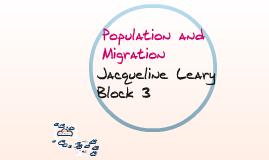Population & Migration