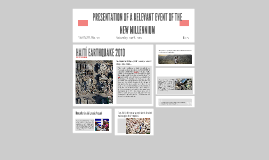 Copy of PRESENTATION OF A RELEVANT EVENT OF THE NEW MILLENNIUM