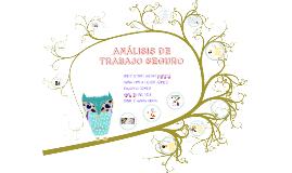 ANALISIS DE TRABAJO SEGURO