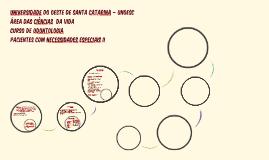UNIVERSIDADE DO OESTE DE SANTA CATARINA – UNOESC