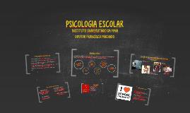 PSICOLOGIA ESCOLAR