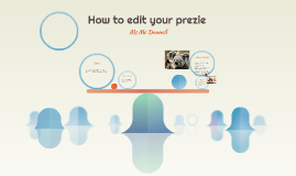 How to edit your preszie
