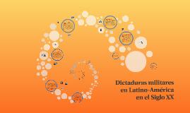 Dictaduras militares en Latino-américa