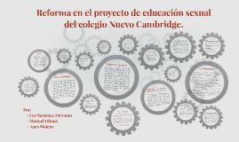 Reforma en el proyecto de educación sexual del colegio Nuevo