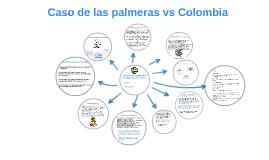 Caso de las palmeras vs Colombia