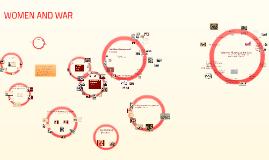 Copy of Women, Gender, and War