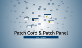 Copy of Copy of Patch Cord & Patch Panel