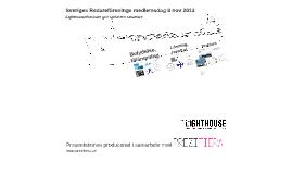 Lighthouse på Redareföreningens medlemsdag 2013
