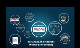 Weekly Sales Meeting, May 15, 2019