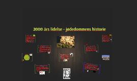 2000 års lidelse - jødedommens historie