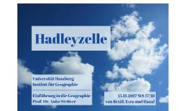 Die Hadleyzelle