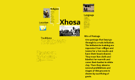 Copy of Xhosa