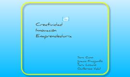 Copy of Creatividad, Innovación, Emprendeduría