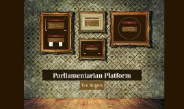 Parliamentarian Platform