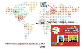 Santos Salesianos...