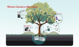 Copy of MÉTODOS EDUCATIVOS ALTERNATIVOS
