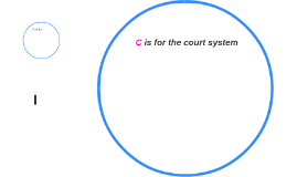 C is for the court system