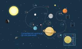 Composición química de los planetas