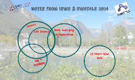 ISWC + SWAT4LS 2014 Notes (Pt 1)