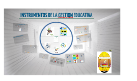 Copy of Instrumentos de la Gestión Educativa