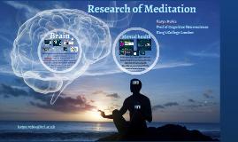 Meditation & Attention