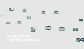 Copy of MAGNITUDES PROPORCIONALES
