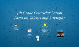 4th Grade Counselor Lesson