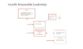 Socially Responsible Leadership
