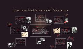 Hechos históricos del Nazismo
