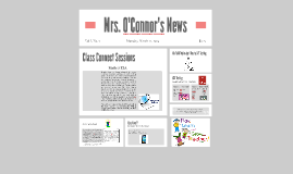 Copy of Copy of Mrs. O'Connor's News