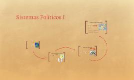 Sistemas Políticos I