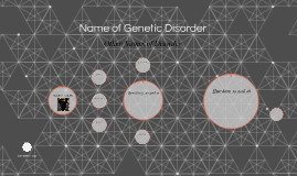 Name of Genetic Disorder