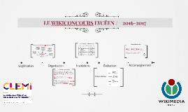 WIKICONCOURS LYCÉEN 2017
