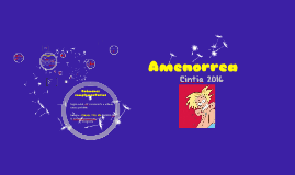 Copy of Amenorrea