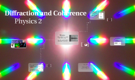 Physics 2 Mech - Unit 5 - Diffraction and Coherence