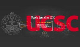 Modelo Educativo UCSC