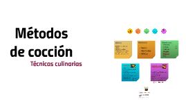 COCCION PDF METODOS DE