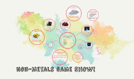 Non-Metals Game Show!