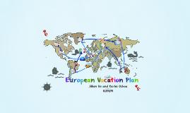 European Vacation Plan