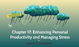 Chapter 17Enhancing Personal Productivity and Managing Stre