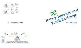 Copy of Rotary Scholarship to Study Abroad