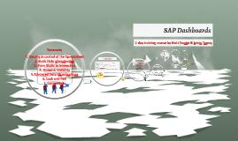 SAP Dashboards