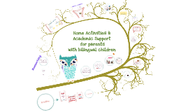 Academic home activities to support parents with bilingual children