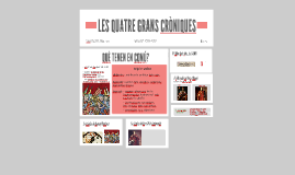 LES QUATRE GRANS CRÒNIQUES