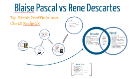 descartes vs pascal Science and religion in blaise pascal's life william r shea or descartes' subtle matter),but he was careful not to go beyond the evidence at hand.