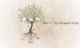 Bài 11: Tệp và quản lí tệp